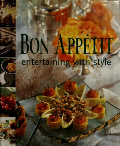 Bon appétit entertaining with style by