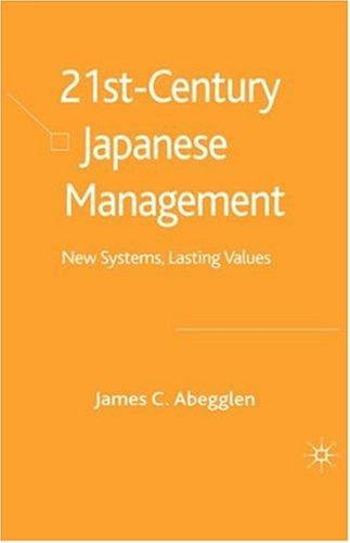 21st century Japanese management by James C. Abegglen