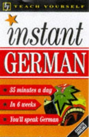 Instant German (Teach Yourself: Instant)