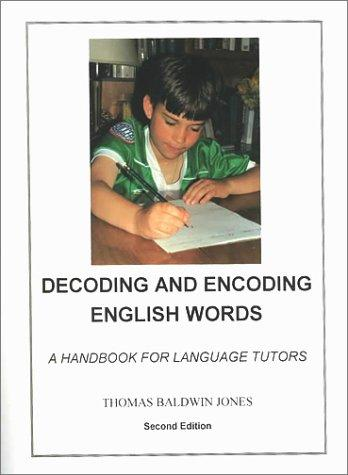 Decoding and encoding English words