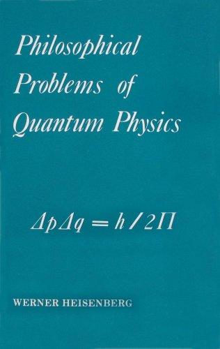 Philosophical Problems of Quantum Physics