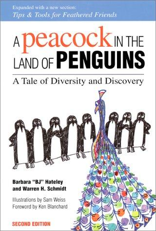 A peacock in the land of penguins