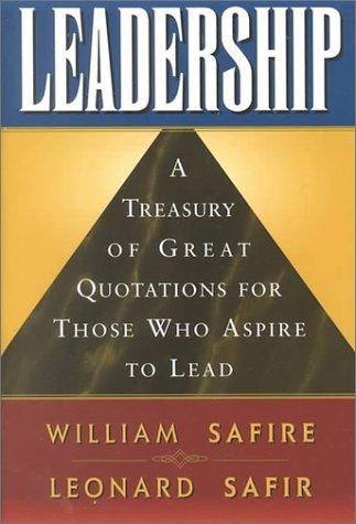 Leadership by William Safire