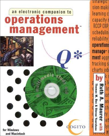 Operations Management by Ruth Maurer