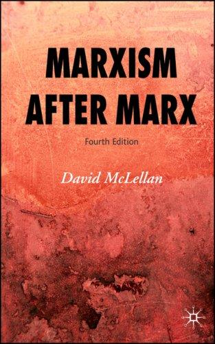 Marxism After Marx by David McLellan