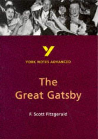 "York Notes on F.Scott Fitzgerald's ""Great Gatsby"" by Julian Cowley"