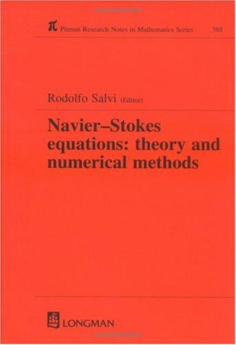 The Navier-Stokes Equations by Rodolfo Salvi