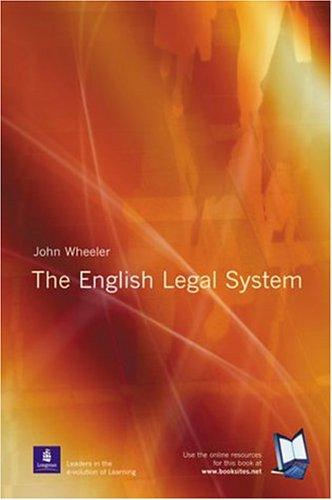 English Legal System by John Wheeler