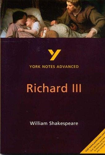 "York Notes Advanced on ""Richard III"" by William Shakespeare by Rebecca Warren"