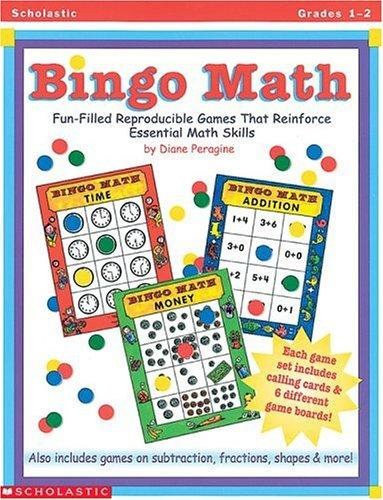 Bingo Math (Grades 1-2) by Diane Peragine