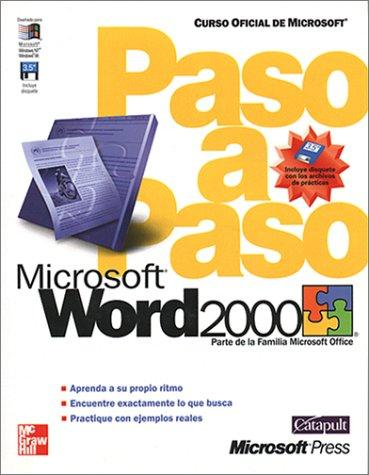 Microsoft Word 2000 Paso A Paso by Catapult