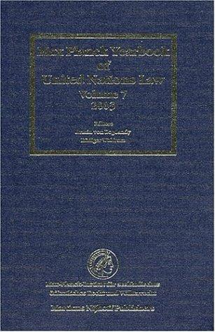 Max Planck yearbook of United Nations law by