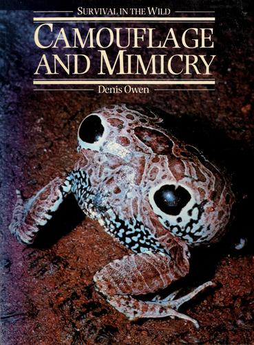 Camouflage and mimicry by Owen, Denis Frank