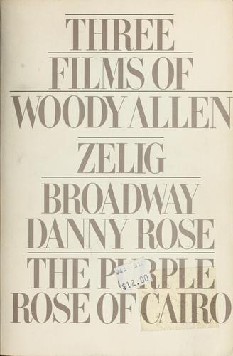 Three Films by Woody Allen by Woody Allen