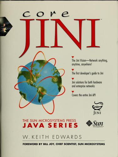 Core Jini by W. Keith Edwards