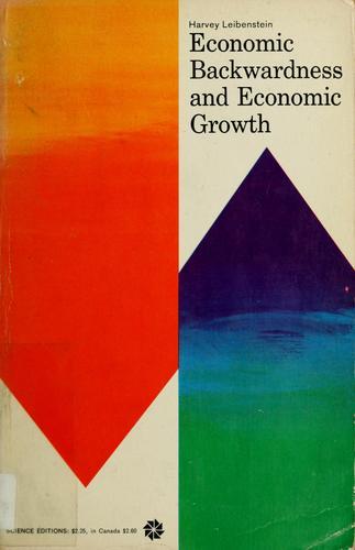 Economic backwardness and economic growth