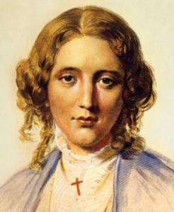 Photo of Harriet Beecher Stowe
