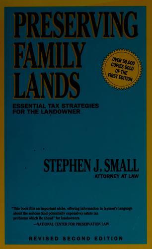 Preserving family lands