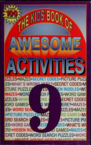 The kids' book of awesome activities by Tony Tallarico