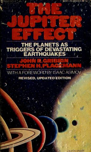 The Jupiter effect by John R. Gribbin