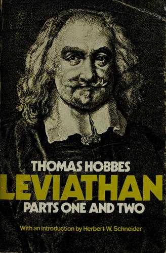 Leviathan by Thomas Hobbes