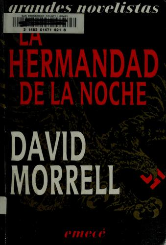 La hermandad de la noche by David Morrell