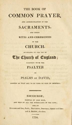 The Primer (The Book of Common Prayer) by Church of England
