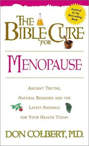 The Bible cure for menopause by Don Colbert