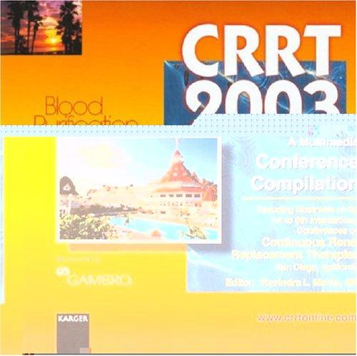 Crrt 2003 - A Multimedia Conference Compilation by R. L. Mehta