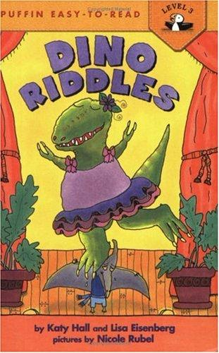 Dino Riddles by Katy Hall