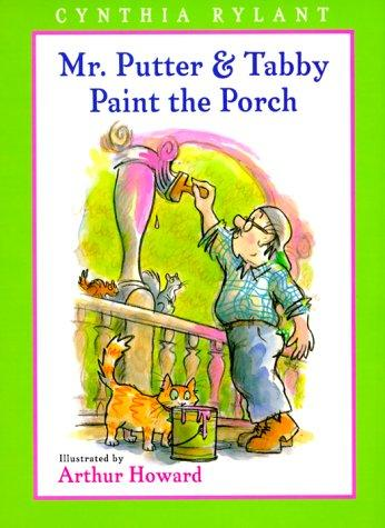 Mr. Putter & Tabby paint the porch