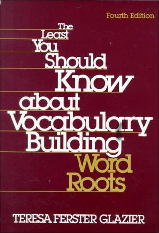 The least you should know about vocabulary building