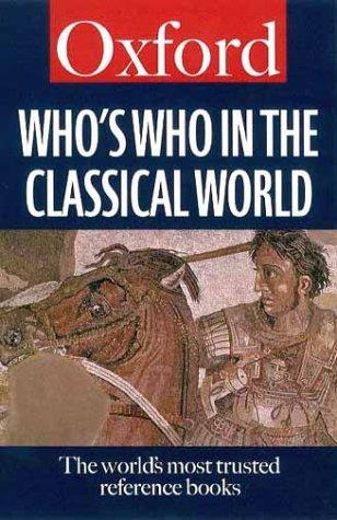 Who's who in the classical world by Simon Hornblower