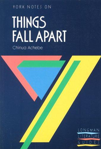 "York Notes on Chinua Achebe's ""Things Fall Apart"" by T.A. Dunn"