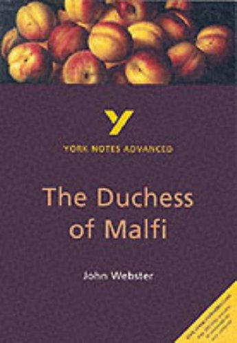 "York Notes on John Webster's ""The Duchess of Malfi"" by Rebecca Warren"