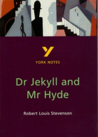 "York Notes on Robert Louis Stevenson's ""Doctor Jekyll and Mr.Hyde"" by Tony Burke"