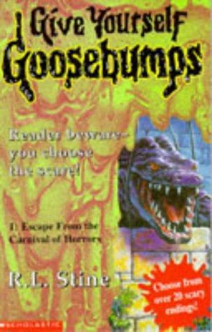 Escape from the Carnival of Horrors by RL Stine