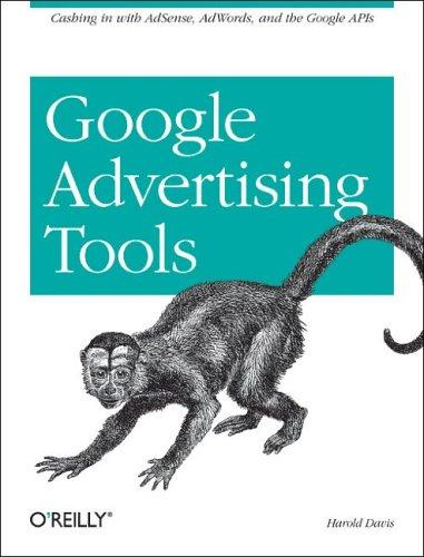 Google Advertising Tools by Harold Davis